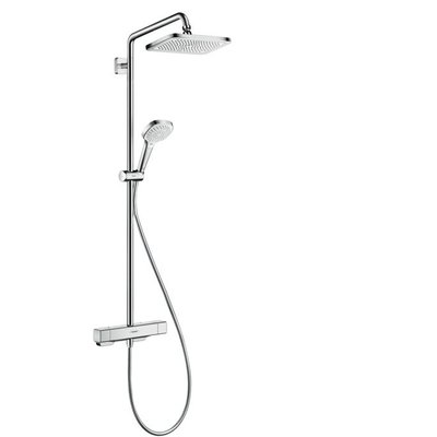 Hansgrohe Croma select e 1jet showerpipe chroom chroom
