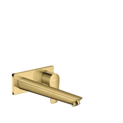 Hansgrohe Talis e afdekset wastafelkraan 22,5cm polished gold optic polished gold optic