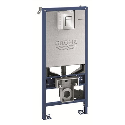Grohe Rapid SLX Inbouwreservoir 3-in-1 set 113cm chroom met frame SHOWROOMMODEL