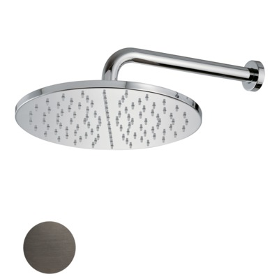 Royal plaza Thetis hoofddouche 30 cm douchearm wand staal 01