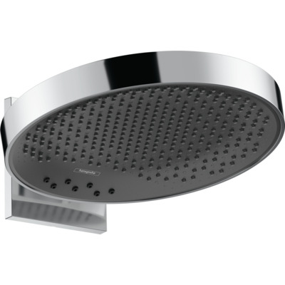 Hansgrohe Rainfinity hoofddouche wand rond 36cm polished gold optic