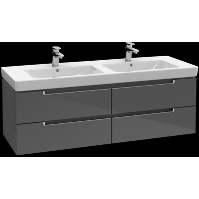 Villeroy & boch Subway 2.0 Wastafelonderkast 1287x420x449mm