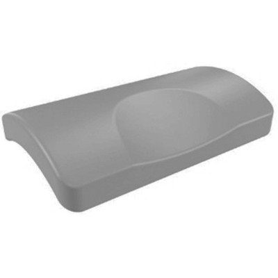 Villeroy & Boch Coussin bain 24x15x5cm anthracite