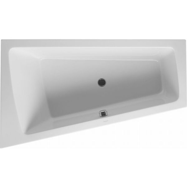 Duravit Paiova bad 170x100cm hoek links wit 700224000000000