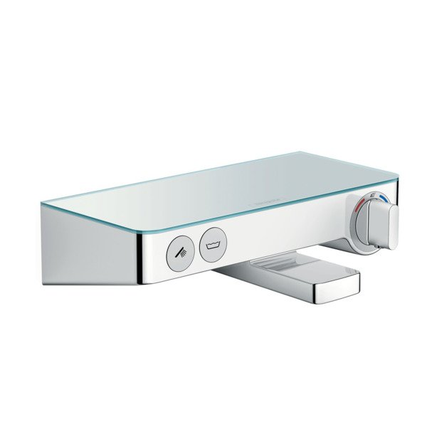 Hansgrohe Select shower tablet 300 badthermostaat met omstel wit chroom 13151400