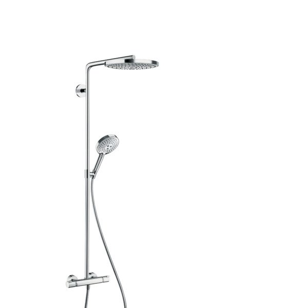 Hansgrohe Raindance select s240 2jet showerpipe wit/chroom 27129400