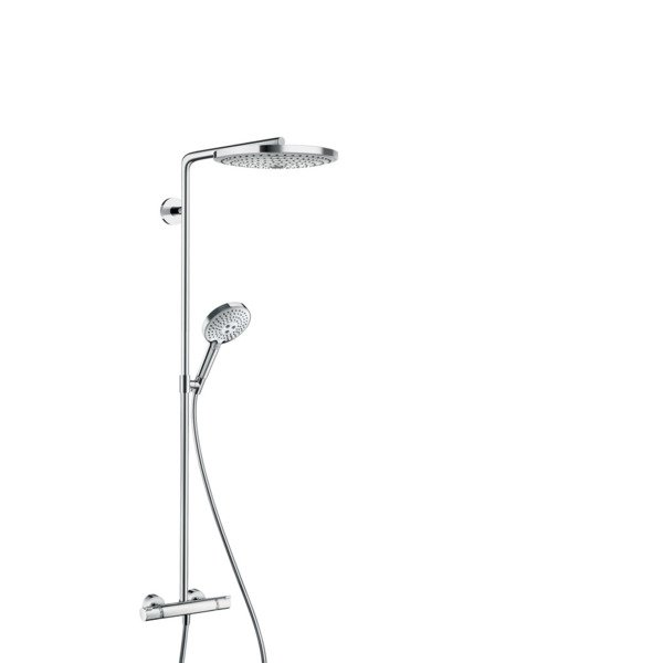 Hansgrohe Raindance select s300 2jet showerpipe chroom 27133000