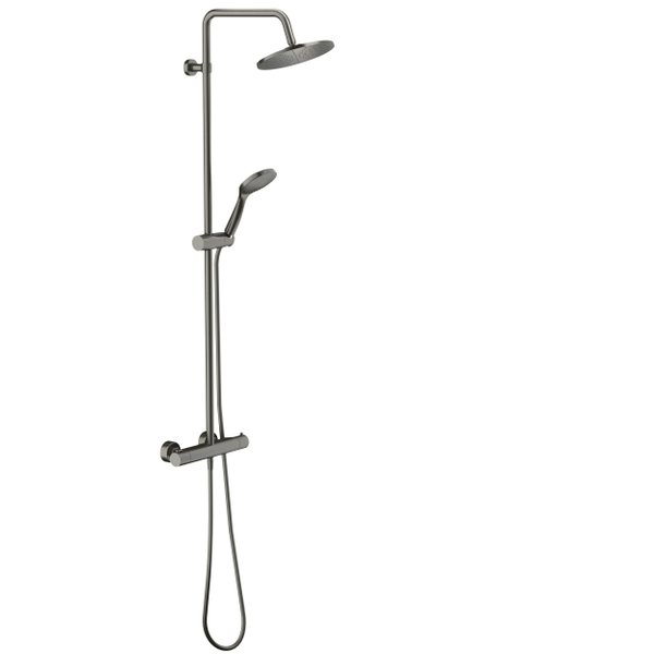 Royal Plaza Talon showerset met thermostaat staal 50871