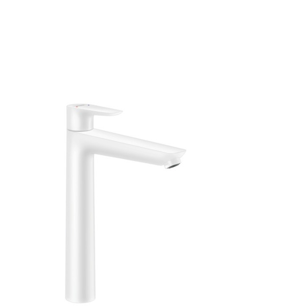 Hansgrohe Talis e wastafelkraan m/pop up waste mat wit 71716700