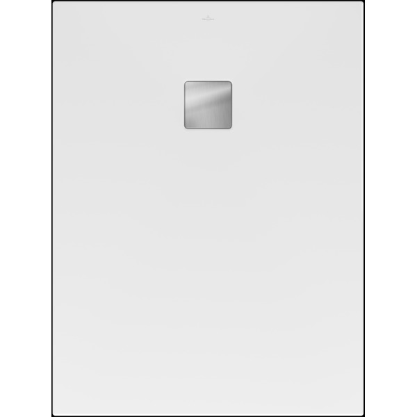 Villeroy & Boch Excello douchevloer 120x90cm polyurethaan/acryl stone white SW374673