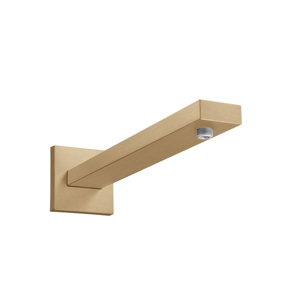 Hansgrohe douchearm Square 389mm brushed bronze 27694140
