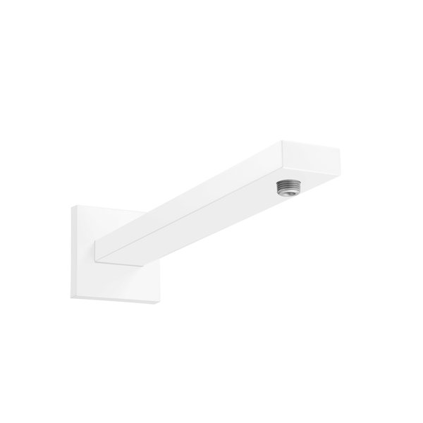 Hansgrohe douchearm Square 389mm mat wit 27694700