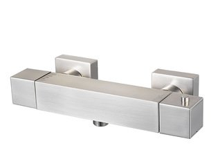 Haceka Mezzo Mitigeur thermostatique douche 15cm Chrome mat HA403160
