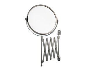 Haceka Ixi Miroir grossissant suspendu 15cm chrome mat HA415197