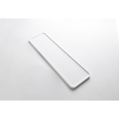 Ideavit Solidmac plateau 45x14x1.2cm Solid surface mat wit