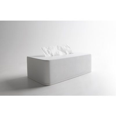 Ideavit Solidcase Tissuebox 23.5x12.5x7cm Solid surface mat wit