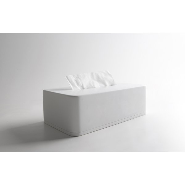 Ideavit Solidcase Tissuebox 23.5x12.5x7cm Solid surface mat wit 290098