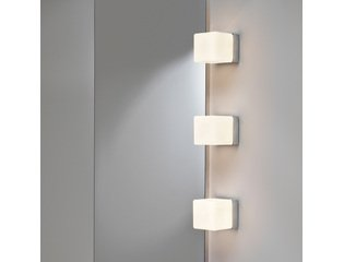 astro cube wandlamp exclusief g9 chroom 105x525cm ip44 staal a sw75552