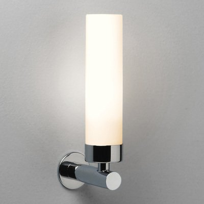 Astro Tube wandlamp exclusief E14 chroom 12x25cm IP44 staal A+