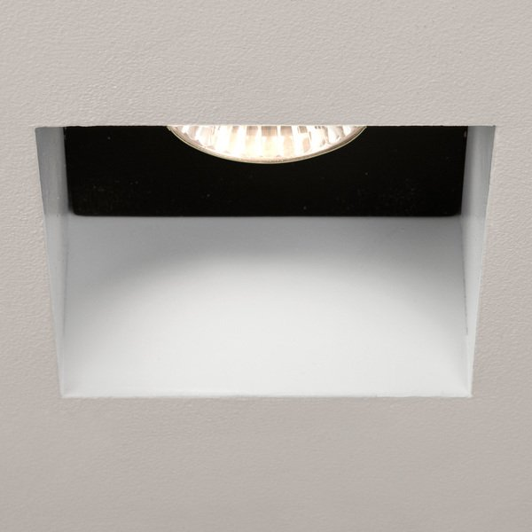 Astro Trimless Square Fixed 230v Inbouwspot Exclusief Gu10 Wit 9x57cm Ip65 Staal A 5670 Sanitairwinkel Nl