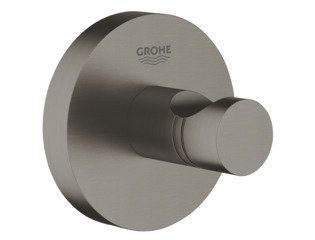 Grohe Essentials handdoekhaak brushed hard graphite SW99001