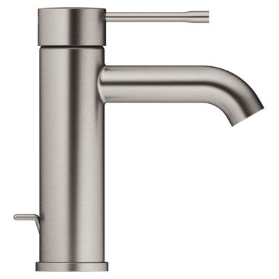 Grohe Essence New wastafekraan S-size met waste brushed hard graphite