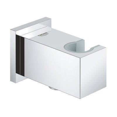 Grohe Euphoria Cube Coude mural avec support chrome