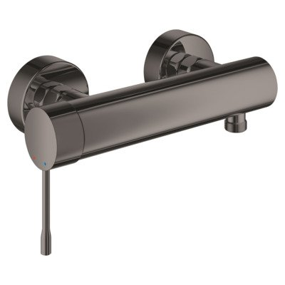 Grohe Essence New douchekraan met koppelingen hard graphite