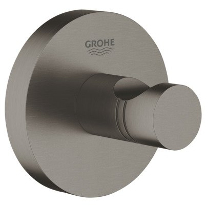 Grohe Essentials crochet serivette brushed hard graphite