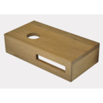 Wiesbaden Oak planchet 40 x 21 x 10 cm links SW296051
