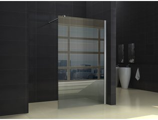 Praya Shower plus inloopdouche 50x200cm 10mm glas met nano coating