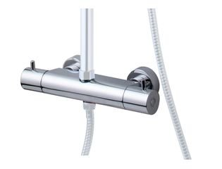 Praya Wiesbaden Caral losse thermostatische kraan voor douche-opbouwset chroom OUTLET OUT5768