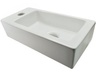 Wiesbaden Rhea fontein links 36x18x9cm mini wit OUTLET OUT5810