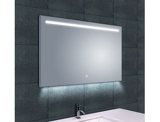 Wiesbaden Ambi One dimbare Led condensvrije spiegel 100x60cm SW95869