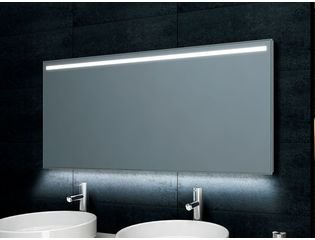 Praya Ambi One dimbare Led condensvrije spiegel 80x60cm OUTLET OUT5454