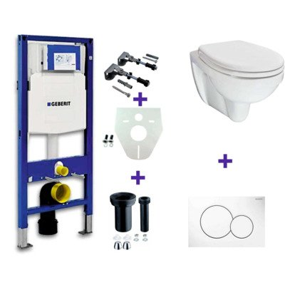 One Pack Geberit UP 320 plus Trevi one pack plus Sigma 01 blanc