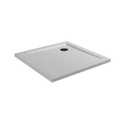 Wiesbaden Compo douchebak acryl 90x90x4 wit OUTLET