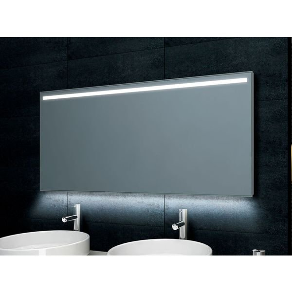 Wiesbaden Ambi One dimbare Led condensvrije spiegel 160x60cm OUTLET OUT6325