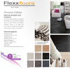 Flexxfloors Premium Collection PVC vloer tegeldessin Terrazzo Antraciet FE1144343