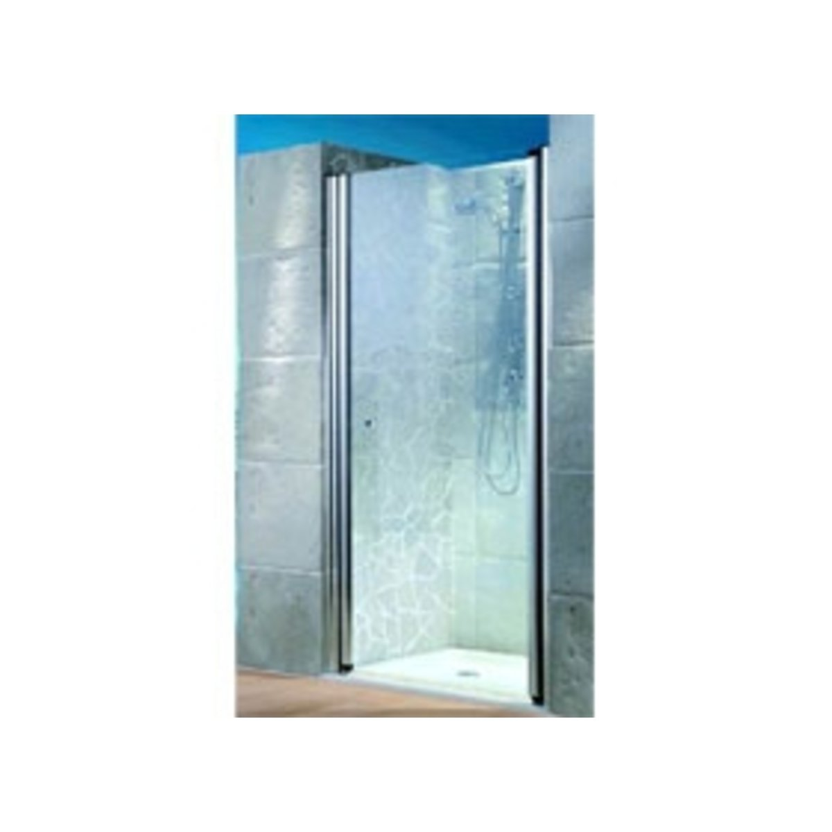 Saniclass dd02 porte de douche 100x 200cm vitre for Porte jarretelle h m