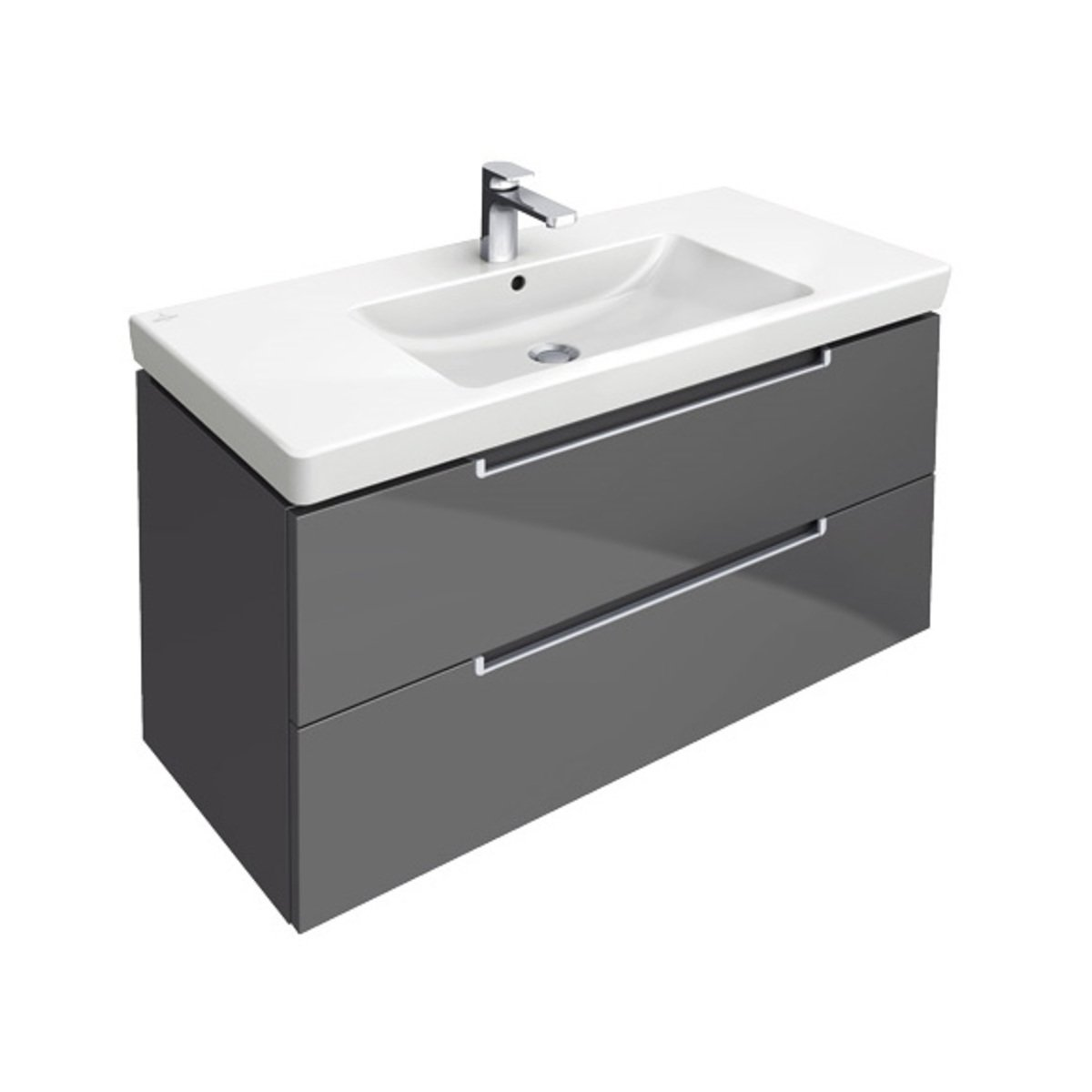 Villeroy boch subway 2 0 meuble sous lavabo 98 7x44 for Meubles 2 0