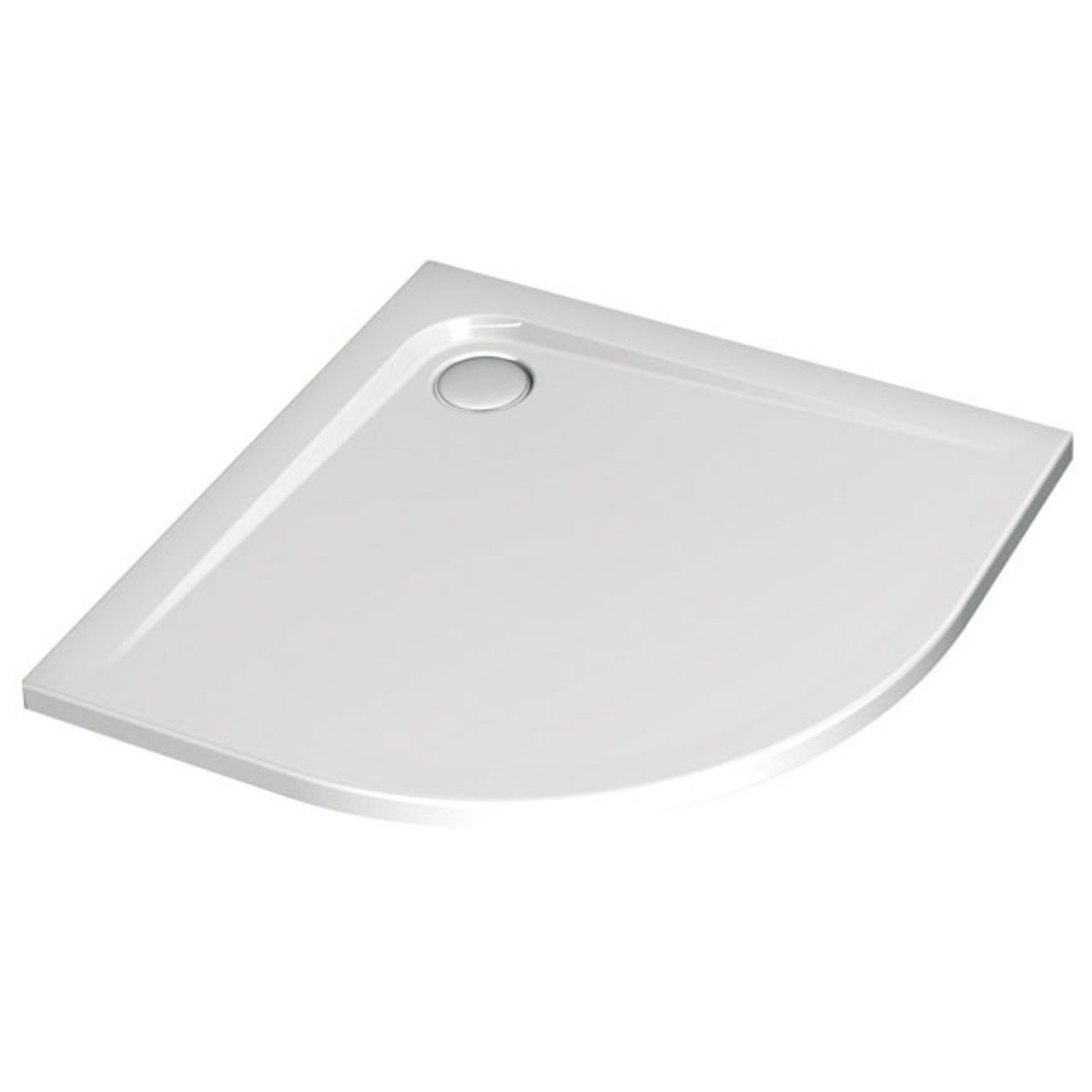 Ideal Standard Ultra Flat Receveur De Douche 90x90x4 7cm Rayon 55mm