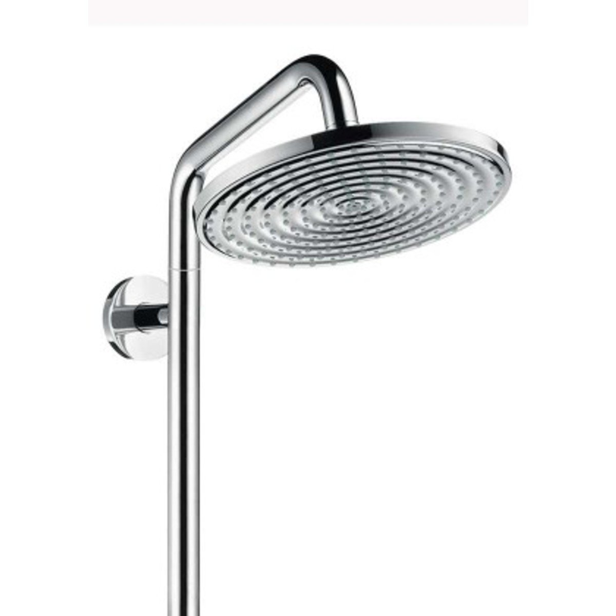 hansgrohe raindance select air 240 showerpipe met handdouche en hoofddouche chroom 27115000. Black Bedroom Furniture Sets. Home Design Ideas