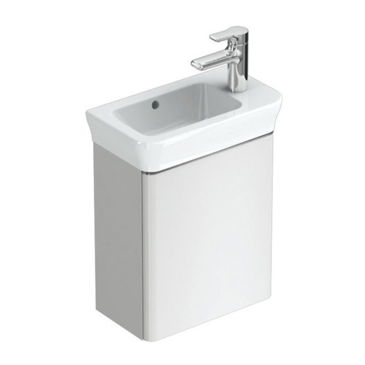 Ideal standard softmood meuble sous lave mains for Meuble sous lave mains