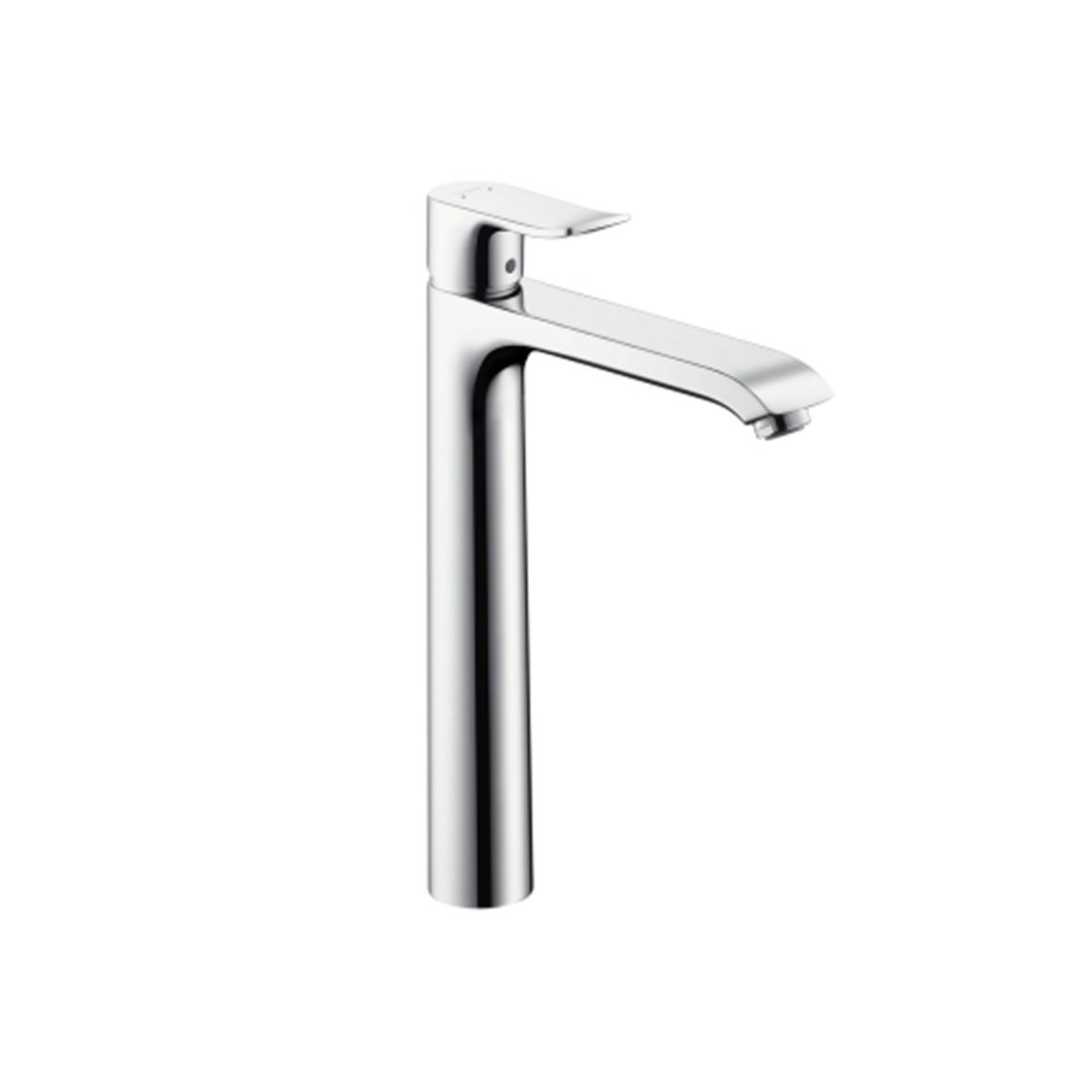 hansgrohe metris robinet pour lavabo 1 trou highriser 260 chrome 31184000. Black Bedroom Furniture Sets. Home Design Ideas