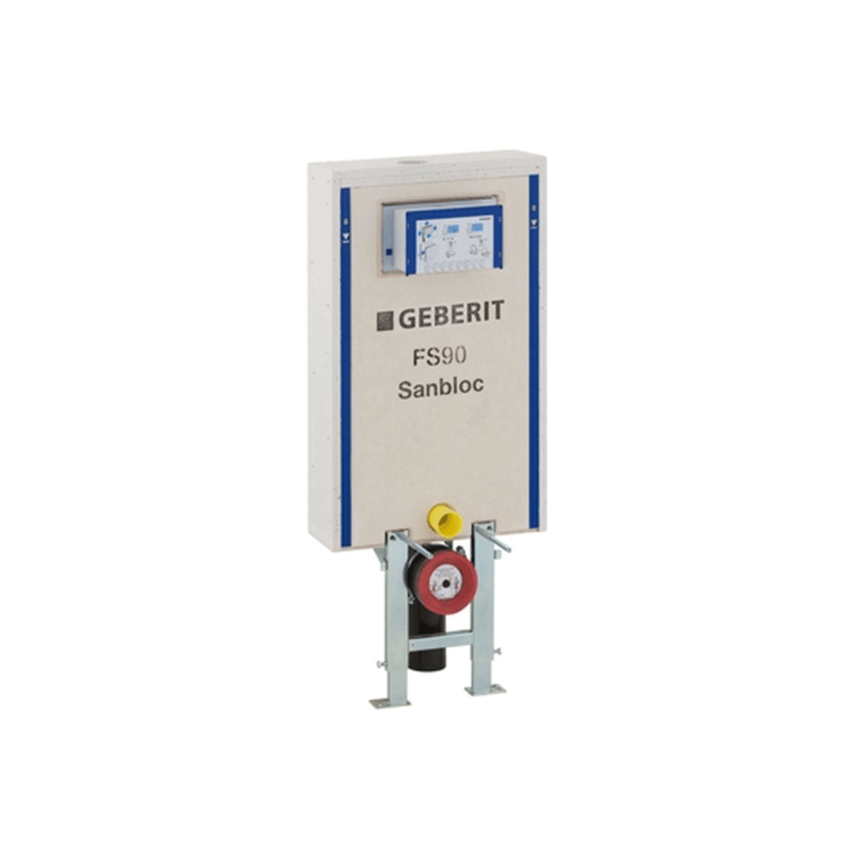 Geberit sanbloc wc element fs90 inclusief reservoir up320 for Geberit products