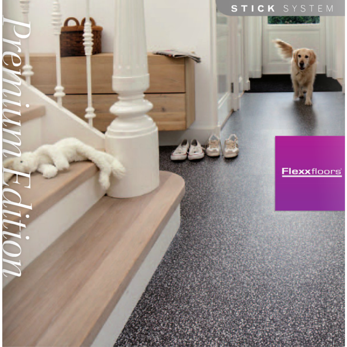 Flexxfloors premium collection pvc vloer houtdessin wit eiken ...