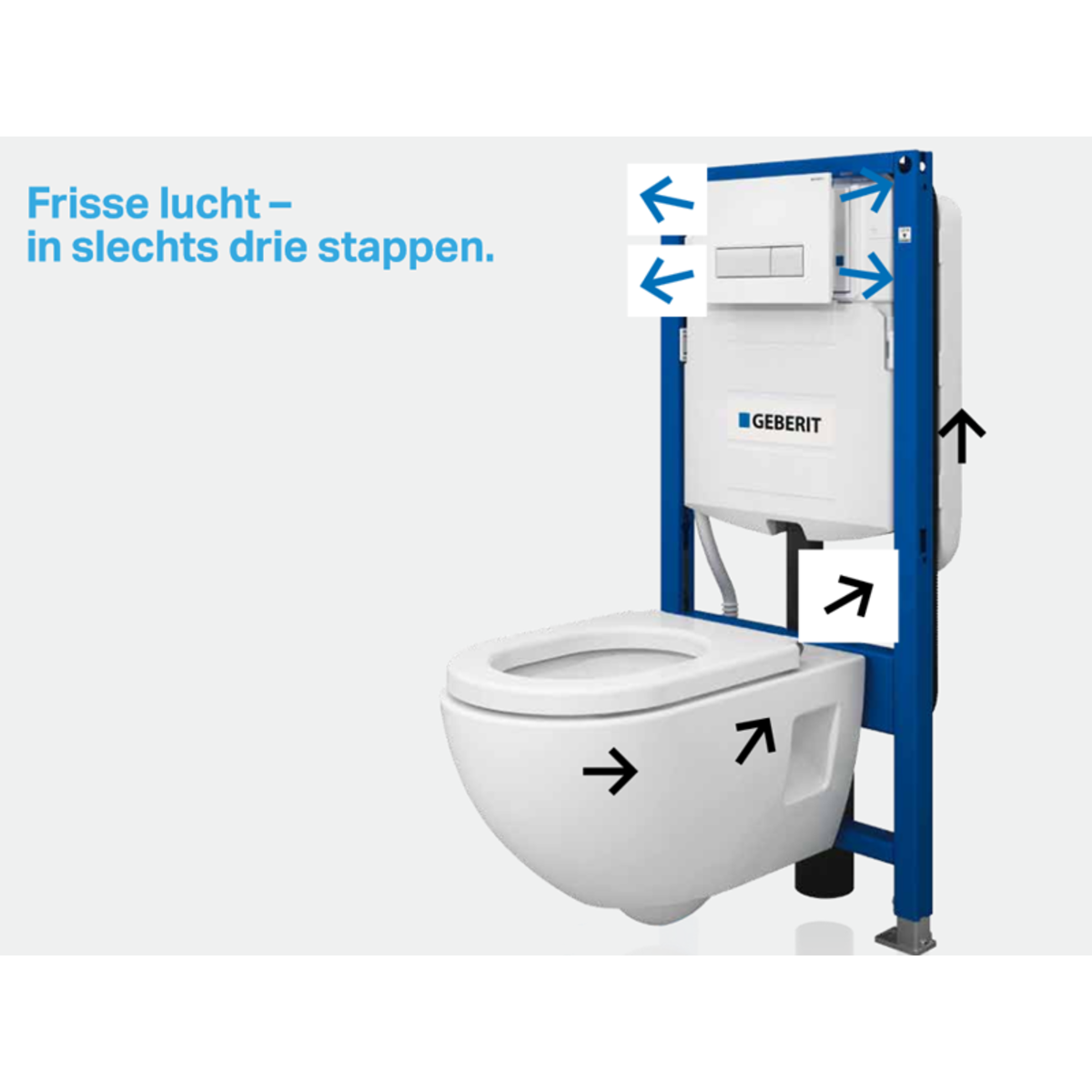 Geberit duofix wc element h112 met reservoir up320 for Geberit products