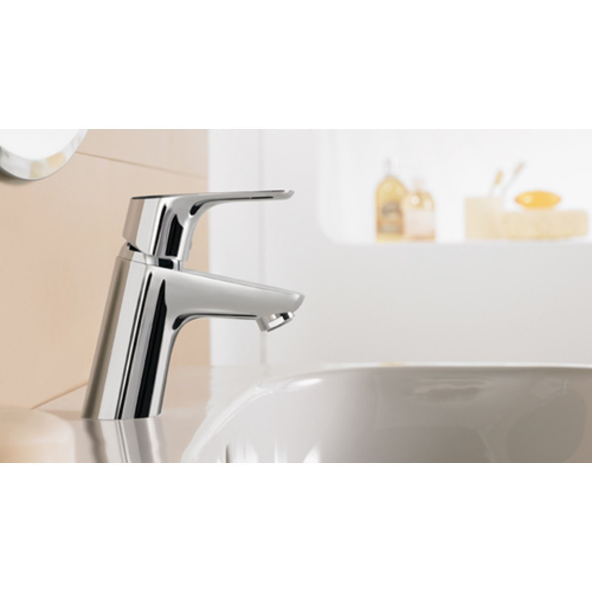 hansgrohe focus robinet pour lavabo coolstart 70 avec bonde chrome 31539000. Black Bedroom Furniture Sets. Home Design Ideas