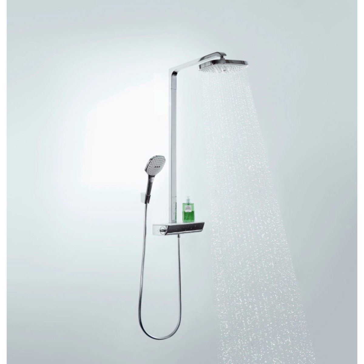 hansgrohe raindance select showerpipe e 300 2jet wit. Black Bedroom Furniture Sets. Home Design Ideas